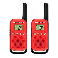 [해외]MOTOROLA TLKR-T42 2 Pack Red
