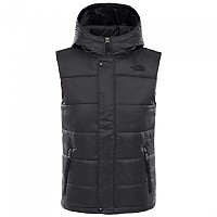 [해외]노스페이스 Harway Hooded Vest Boys TNF Black