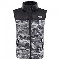 [해외]노스페이스 Nuptse Down Vest Boys TNF Black Textured Camo Print