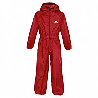 [해외]TRESPASS Button Rain Suit Signal Red