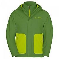 [해외]바우데 Campfire 3in1 Jacket IV Kids Parrot Green