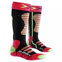 [해외]엑스 바이오닉 Ski Sock Coral / Green