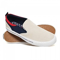 [해외]슈퍼드라이 International Slip On Off White/Navy/Red