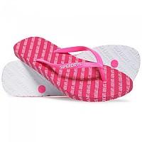 [해외]슈퍼드라이 Super Sleek Aop Flip Flop Fluro Pink