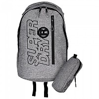 [해외]슈퍼드라이 Zac Freshman Backpack Grey Marl / Black