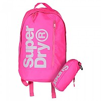 [해외]슈퍼드라이 Freshman Academy Backpack Hot Pink