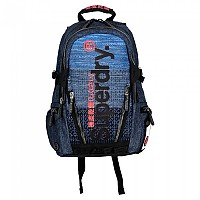 [해외]슈퍼드라이 Knit Tarp Backpack Dark Navy