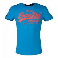 [해외]슈퍼드라이 Vintage Logo Neon Lite Beach Blue