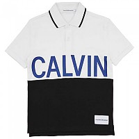 [해외]캘빈클라인 JEANS Pique Calvin Chest Regular Bright White