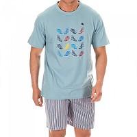 [해외]KISSES&LOVE KL30058 Pyjamas S/S Ocean Blue