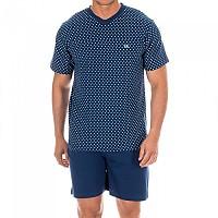 [해외]KISSES&LOVE KL30059 Pyjamas S/S Marine / Blue Crosses