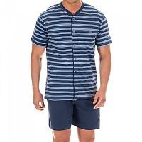 [해외]KISSES&LOVE KL30060 Pyjamas S/S Marine / Blue Stripes