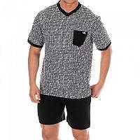 [해외]KISSES&LOVE KL30062 Pyjamas S/S Black / White