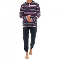 [해외]KISSES&LOVE KL30068 Pyjamas L/S Anthracite / Purple
