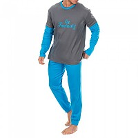 [해외]KISSES&LOVE KL30074 Pyjamas L/S Anthracite / Blue