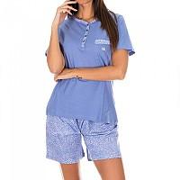 [해외]KISSES&LOVE KL45055 Pyjamas S/S Purple / White