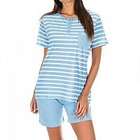 [해외]KISSES&LOVE KL45070 Pyjamas S/S Blue Stripes