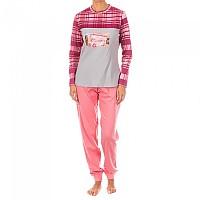[해외]KISSES&LOVE KL45072 Pyjamas L/S Pink / Grey
