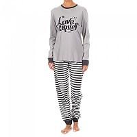 [해외]KISSES&LOVE KL45073 Pyjamas L/S Grey / White