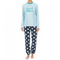 [해외]KISSES&LOVE KL45075 Pyjamas L/S Celest Blue