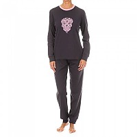 [해외]KISSES&LOVE KL45077 Pyjamas L/S Anthracite / Pink