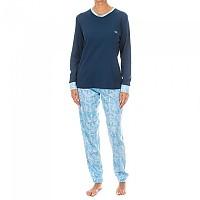[해외]KISSES&LOVE KL45078 Pyjamas L/S Marine / Blue