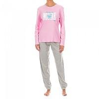 [해외]KISSES&LOVE KL45080 Pyjamas L/S Pink / Grey