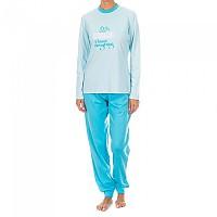 [해외]KISSES&LOVE KL45081 Pyjamas L/S Celeste Blue
