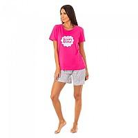 [해외]KISSES&LOVE KL45082 Pyjamas S/S Pink / Grey