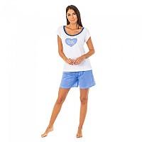 [해외]KISSES&LOVE KL45083 Pyjamas S/S White / Blue