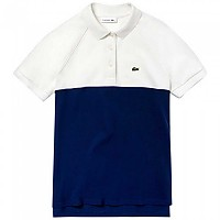 [해외]라코스테 Classic Fit Colorblock White / Navy Blue