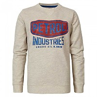 [해외]PETROL INDUSTRIES Sweater R-Neck Antique White Melee
