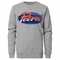 [해외]PETROL INDUSTRIES Sweater R-Neck Light Grey Melee