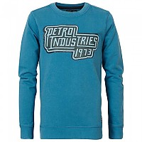 [해외]PETROL INDUSTRIES Sweater R-Neck Aqua Stone