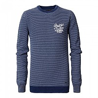 [해외]PETROL INDUSTRIES Knit Ribbed Neck 207 Dark Indigo