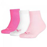 [해외]푸마 언더웨어 Quarter 3 Pack Pink Lady