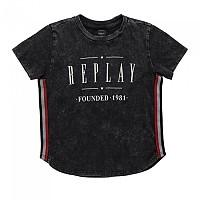 [해외]리플레이 Garment Dyed Cotton Jersey Girl Blackboard