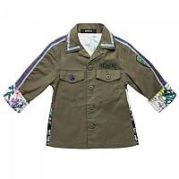 [해외]리플레이 Garment Dyed Stretch Satin Girl Military Green