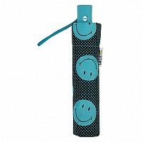[해외]SMILEY Dots Foldable Umbrella Green