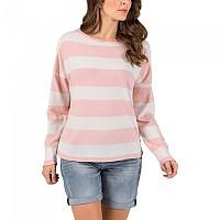 [해외]TIMEZONE Multicolor Pullover Rose Block Stripe