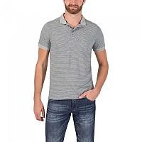 [해외]TIMEZONE Jaquard Stripe Poloshirt Paloma Grey Melange