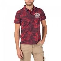 [해외]TIMEZONE Washed Hawaii Poloshirt Red Jungle