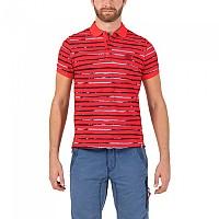 [해외]TIMEZONE Watercolour Stripe Poloshirt T-Red