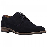 [해외]타미힐피거 Essential Suede Lace Up Derby Midnight