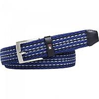 [해외]타미힐피거 Adan Stripe Elastic 3.5 Blue Mix