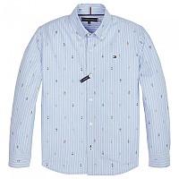 [해외]타미힐피거 KIDS Stripe Abstract Print Shirt Blue