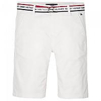 [해외]타미힐피거 KIDS Essential Repeat Logo Belt Chinos Bright White