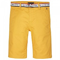 [해외]타미힐피거 KIDS Essential Repeat Logo Belt Chinos Radiant Yellow