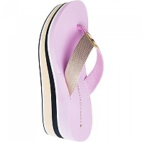 [해외]타미힐피거 SPORTSWEAR High Wedge Metallic Beach Pink Lavender