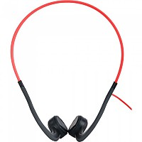 [해외]AFTERSHOKZ Sportz Titanium With Mic Lava Red